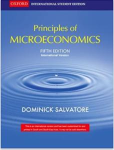 principle of microeconomics